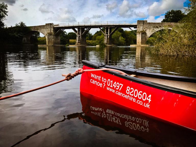 family canoe adventure river wye swan nature wildlife
