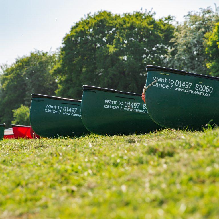 canoe hire river wye hay on wye